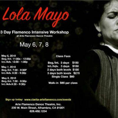 Lola Mayo workshop