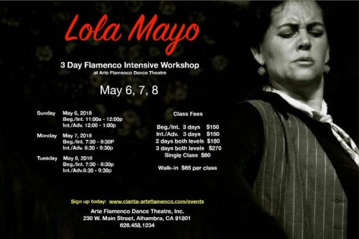 Lola Mayo workshop