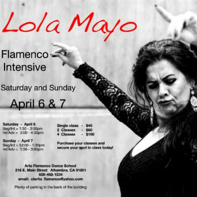 Lola Mayo Flamenco Intensive