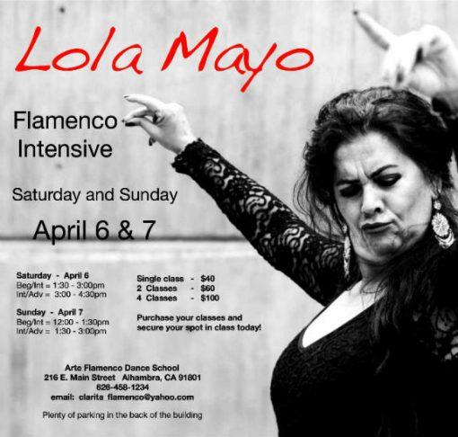 Lola Mayo Flamenco Intensive