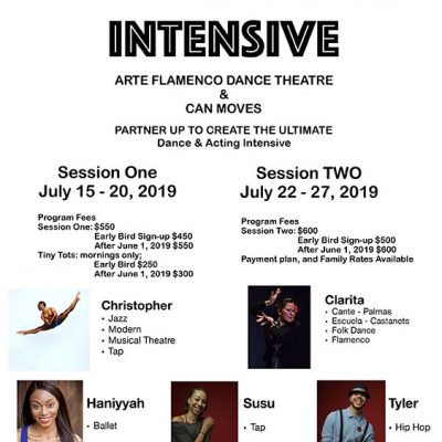 Arte Flamenco Summer Dance Intensive