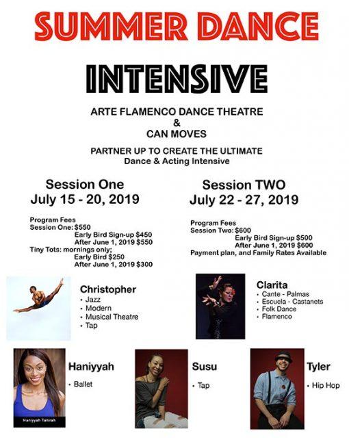 Arte Flamenco Summer Dance Intensive