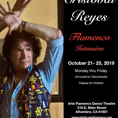 Cristobal Reyes Flamenco Intensive Flyer